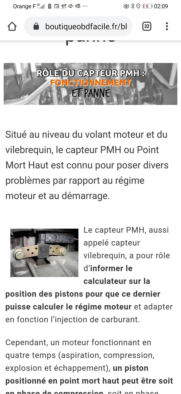 Capteur Pmh Mecaniques